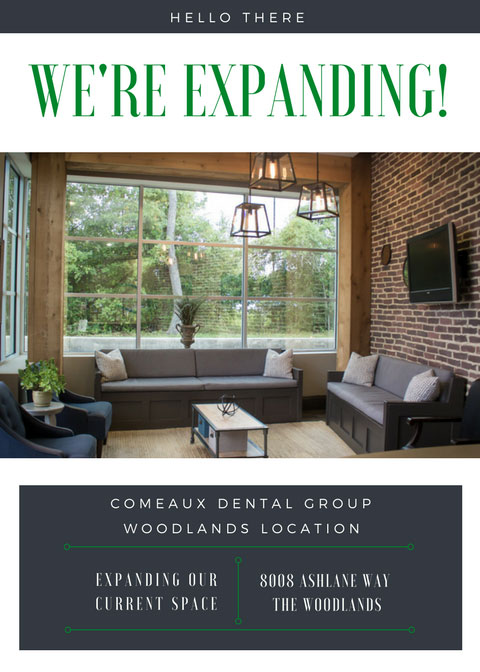Comeaux Dental Group is Expanding